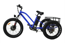 Aluminum Alloy 3 Wheel Fat Tire Electric Tricycle